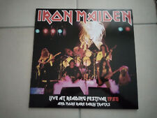 IRON MAIDEN Live at reading festival 80 LP