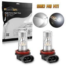 2pcs High Power White H8/H11 LED Fog Driving Light 100W bulb Replace Halogen&HID