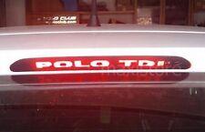 Adesivo Sticker Terzo Stop per Volkswagen Polo 6r - Personalizzalo con soli 2€!