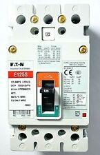 Eaton EGS3125FFG Series G,125A, 480 VAC, 3 Pole Circuit Breaker NEW!