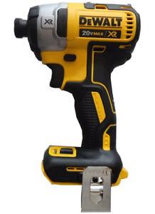 "DEWALT DCF887 20V 20 Volt 1/4"" 3 Speed lithium Impact Driver Tool DCF887B NIB"