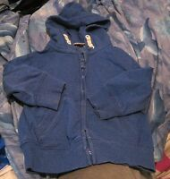 Lovely boys hoodie top in blue by George 12-18 months
