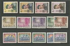 Afghanistan  1962 Boy Scout  United Nations  1963 Afghan Scout  MNH Stamps  (14)