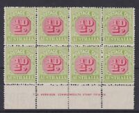 APD449) Australia 1913-21 Crown over double lined A thin paper ½d Carmine