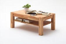 Couchtisch Peter, Kernbuche massiv, Tisch, Wohnzimmertisch, 105x65 cm, geölt