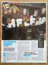 MY CHEMICAL ROMANCE 'Helena' ARTICLE / clipping