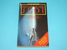 STAR WARS PAPERBACK RETURN OF THE JEDI GEORGE LUCAS 1983 FUTURA BALLANTINE BOOKS