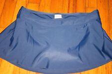 Merona ladies small blue swim skirt NWT