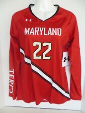 Under Armour Maryland Terrapins Women's Long Sleeve Top Jersey Size S