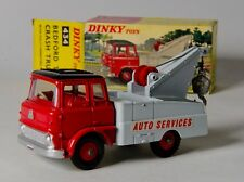 Dinky 434 Bedford TK Crash Truck. Red/Grey/Black. Near-MINT. Boxed. 1960's