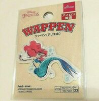 Daiso Japan Disney Ariel Princess EMBROIDERED IRON ON PATCH MERMAID APPLIQUE NEW