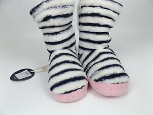 Joules Girls Jnrpadaboutg Hi-Top Comfort Boots Slippers SZ 6-8 Toddler,  1549