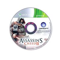 Assassin's Creed II 2 (Microsoft Xbox 360) Game DISC ONLY Tested & Working