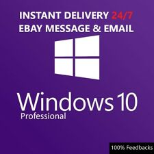 WINDOWS 10 PRO PROFESSIONAL LIFETIME GENUINE ACTIVATION KEY FULL VERSION