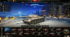World of tanks and world of warships account EU 168 tanks 98 premium good stats
