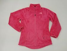 Girl's  XL (18) THE NORTH FACE Fleece Sweater Jacket  Pink Osito Fleece