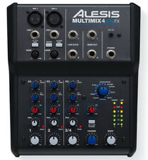 Alesis Multimix 4 USB FX - Home Recording Studio Mixer + Audio Interface Effects