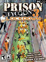 Prison Tycoon 3 Lockdown PC Games Windows 10 8 7 XP Computer business sim NEW