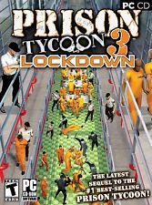 Prison Tycoon 3 Lockdown PC Games Windows 10 8 7 Vista XP Computer business sim