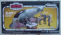 SLAVE I 1 Star Wars Vintage Collection Empire Boba Fett Amazon Hasbro 2013 NEW