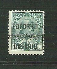 Canada  stamp King Edward VII July 1, 1903 1¢ 1¢ Green used