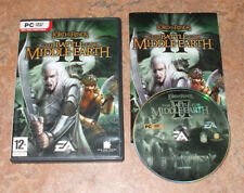 Lord of the Rings: Battle for Middle Earth II (2) pour PC, dvd-rom-complet très bon état