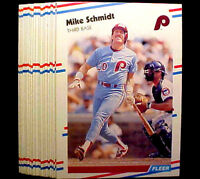 1988 Fleer MIKE SCHMIDT ~  20 CARDS LOT ~ PHILLIES 3B HOF HALL OF FAME INDUCTEE