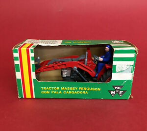 Scarce 1981- Joal 1/43 Massey Ferguson 165 Front Loader Tractor No206 NMIB