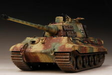 Built Meng 1/35 German King Tiger Henschel Ardennes +PE/Metal ,3 Days To Go