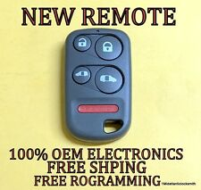 NEW W/ OEM ELECTRONICS KEYLESS REMOTE FOB TRANSMITTER FOR 01-04 HONDA ODYSSEY