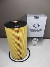 GENUINE SSANGYONG MUSSO SPORTS UTE 2.9L TURBO DIESEL ALL MODEL OIL FILTER 1EA