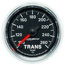 UNIVERSIAL DODGE FORD CHEVY AUTO METER 3857 GS SERIES TRANSMISSION TEMP GAUGE..
