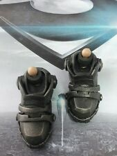 1/6 Hot Toys Man Of Steel General Zod MMS216 Armor Boots  *US Seller*