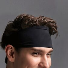Women Men High Elastic Sport Headband Yoga Gym Stretch Hairband Hair Accessories