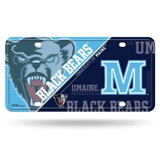 Maine Black Bears Logo NCAA 12x6 Auto Metal License Plate Tag CAR TRUCK