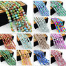 Wholesale Bulk Charms Round Glass Loose Spacer Beads Findings 4mm/6mm/8mm/10mm