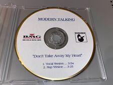 Modern Talking - Don't Take Away My Heart Promo CD BMG Dieter Bohlen