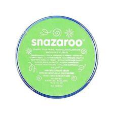 Accessori verde acrilico Snazaroo per carnevale e teatro