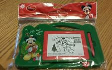 NEW Disney Mickey Mouse Merry Christmas Eraserable Travel Magnetic Tablet