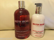 Molton Brown Paradisiac Pink Pepperpod Bath & Shower & Body Cream NEW **LOOK**