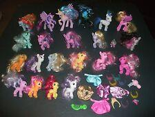 My Little Pony MLP Figure Lot 22 Celestia Nightmare Spike Shining Armor