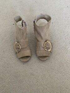 River island Girls Heeled Shoe Boot Kids  Size 12