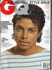Michael Jackson GQ Tribute Issue American USA Magazine 2009