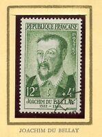 STAMP / TIMBRE FRANCE OBLITERE N° 1166 CELEBRITE / JOACHIM DU BELLAY