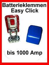 Easy Click Batterie Polklemmen Schnellklemmen Batteriepolklemmen Batterieklemmen