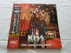 Kiss - Sonic Boom Over London (2 X Picture Disc + Poster) - Top Condition!