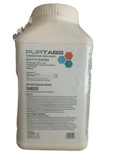 Purtabs Bacteria Disinfection - 256 Ct 8 Lb Jug Each Effevesent Tabs