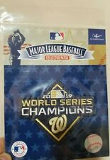 WASHINGTON NATIONALS World Series Champions Patch Official Baseball jersey GOLD