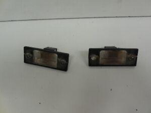 03-10 Porsche Cayenne Pair Of Rear License Plate Lights 7L5943021