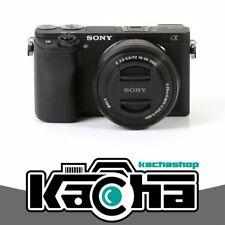 NEU Sony Alpha a6300 Mirrorless Digital Camera with 16-50mm Lens Black
